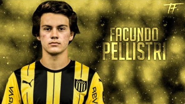 阿斯:曼城挨近敲定乌拉圭18岁边锋佩里斯特里