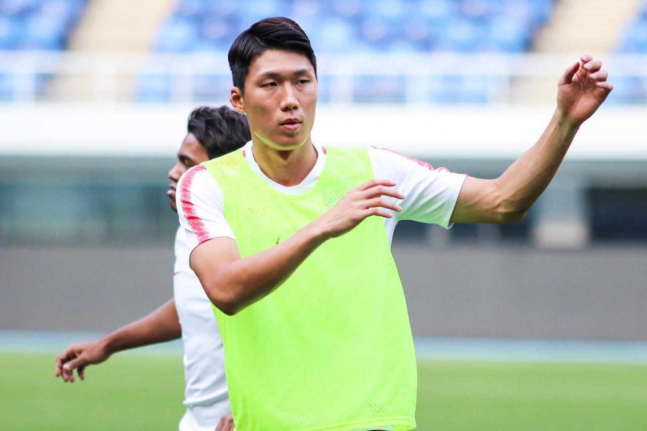宋株熏想继续留在我国踢球,五支中超球队在追逐他