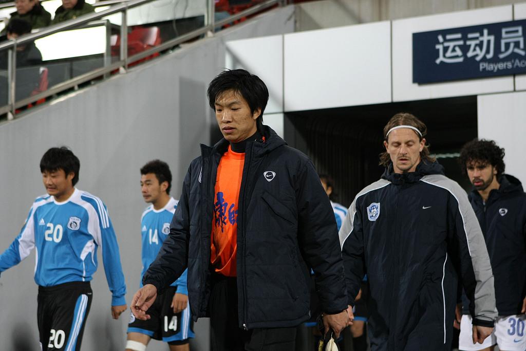 杨君:希望帮天津足球培养出更多优异门将