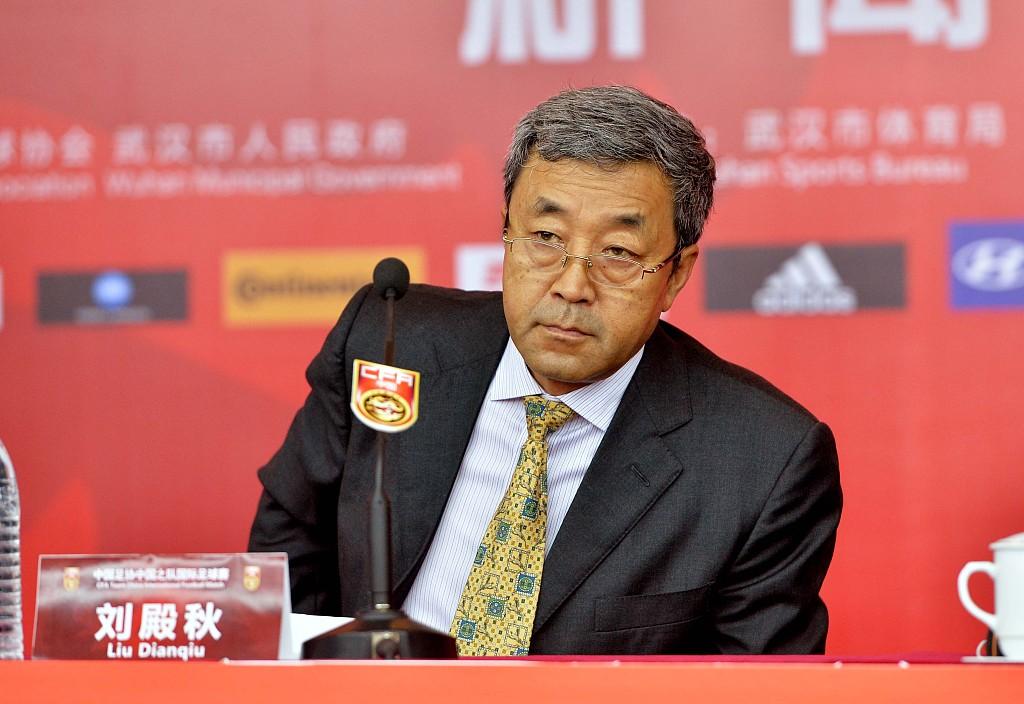 领队刘殿秋谈国青首战输球:队员阅历明显缺少 节奏掌握不及对手