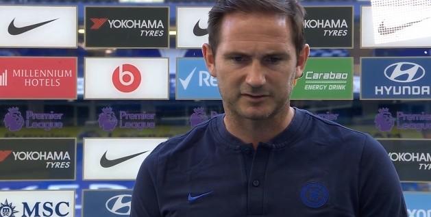 兰帕德:我坚持头脑冷静,两连败没有太绝望之前连胜也没很兴奋