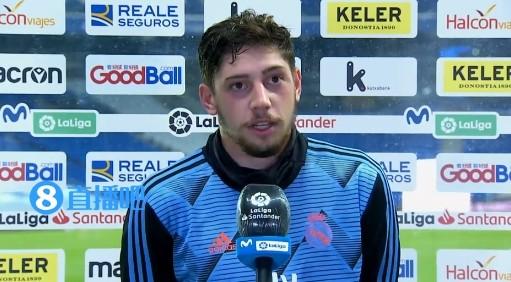 F-巴尔韦德:我没有做得像皇马球员应该做得那样左右逢源