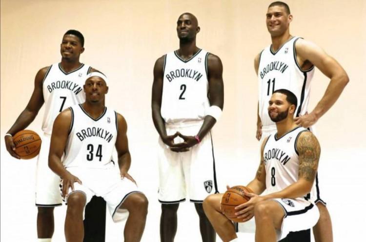 """七年前的今日:篮网生意得到加内特&皮尔斯 组成""""五巨头""""   """