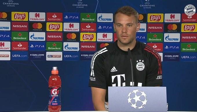 诺伊尔:我为特尔施特根感到一点惋惜,对任何门将来说这都不容易
