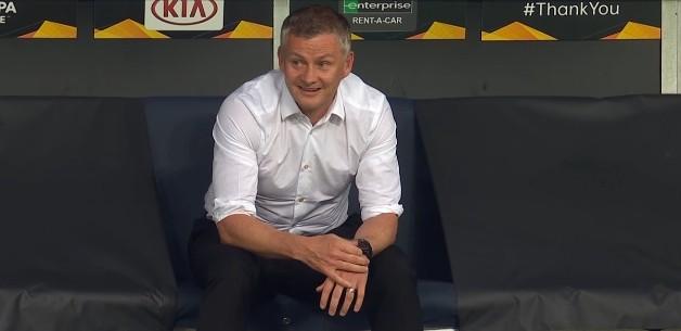 索尔斯克亚百场成绩位列曼联历任主帅第三,曼格纳尔第一