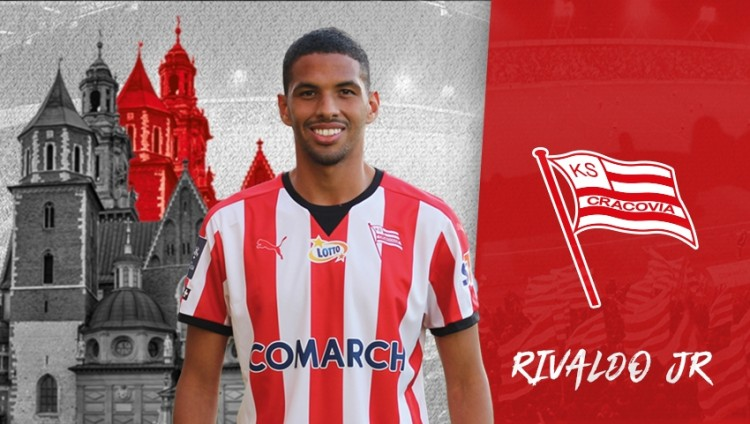 官方:里瓦尔多儿子加盟波兰球队克拉科维亚