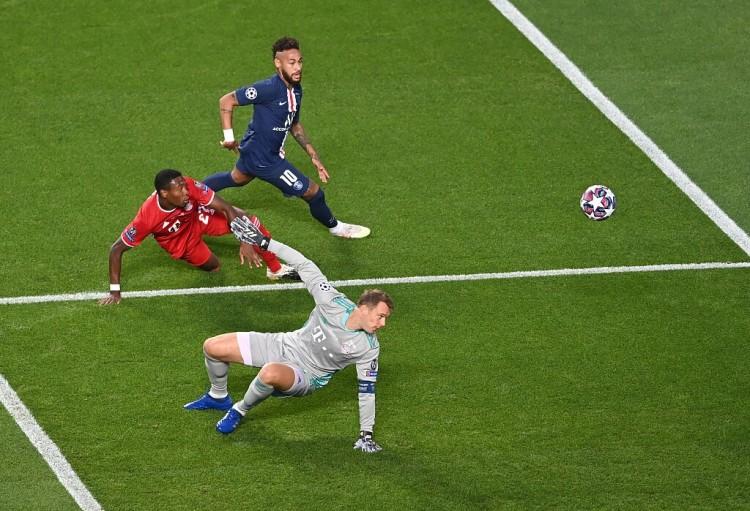 内马尔能赶上对阵拜仁,但短少竞赛节奏将令其难以发挥   