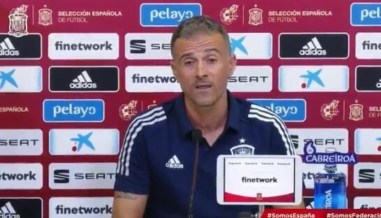 恩里克:我喜欢保-托雷斯的悉数特征 瑞士队在欧国联踢得很卖力 