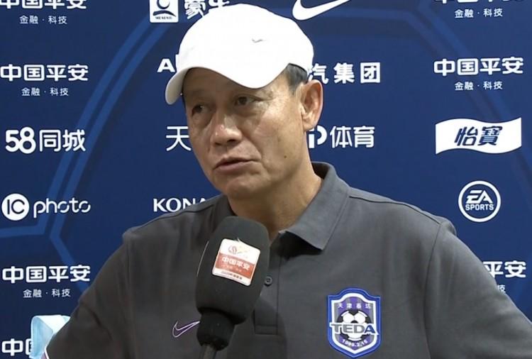 王宝山:初到泰达球队在练习中的慢节奏令我震动