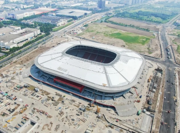 国内媒体:国足40强赛主场根本敲定,很大几率是浦东足球场