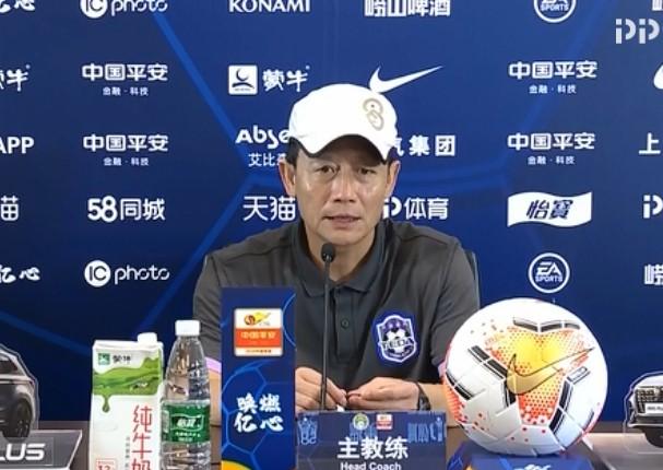 王宝山:接连输球球员备受打击 艾哈来后给球队带来决心