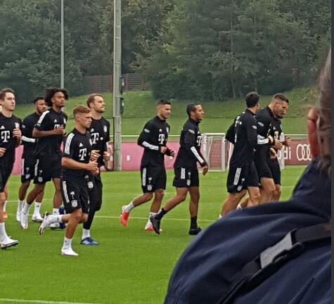 蒂亚戈已参加拜仁合练,为新赛季的开始做准备