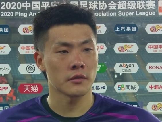 王大雷:有机会打回来但没把握住 本赛季第一次上台还有些不适应 