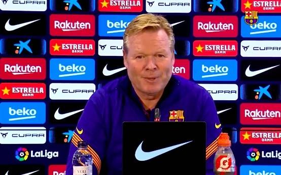 科曼:会让德容踢最擅长的方位 梅西承诺会在前场做逼抢