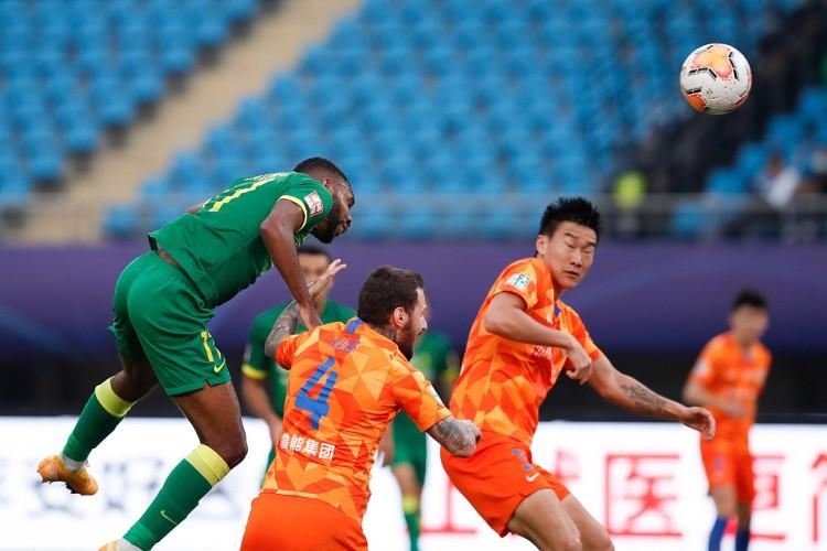 山东鲁能以总比分3-4负于了北京国安,无缘晋级前四名  