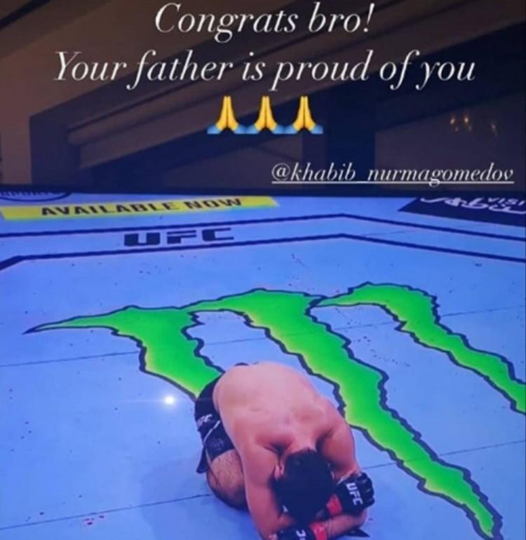 哈比布卫冕UFC轻量级冠军后宣告退役,C罗等体坛名将送祝福 