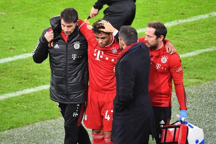 拜仁今日证明,这名德国小将被确诊出脚踝韧带受伤