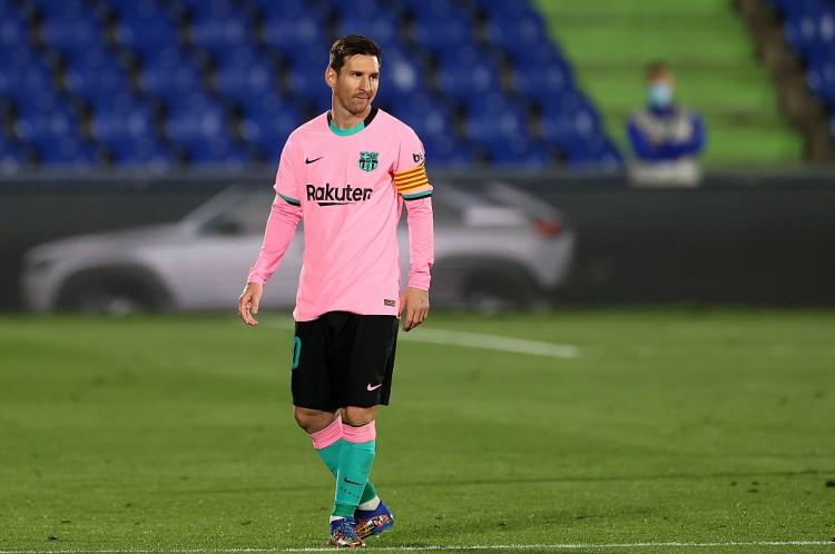 巴拉多利德主帅:体现略差一点的梅西也比其他球员更好