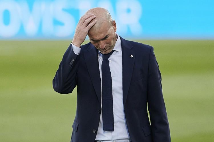 皇马控球率仅41%,齐达内带队主场取胜的比赛中最低   