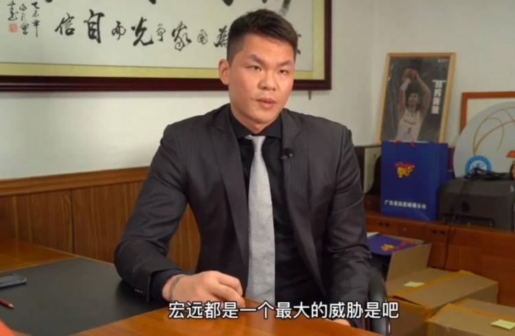 朱芳雨:今年休赛期做过很多努力 感觉宏远被其他沙龙针对了 