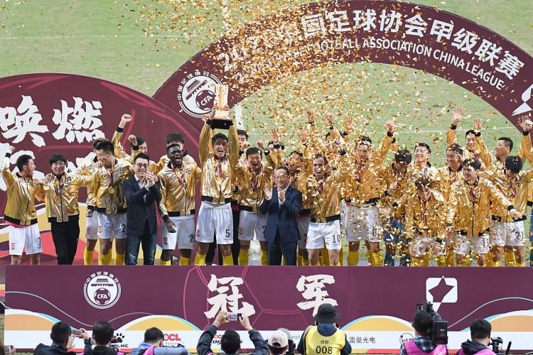 亚泰回来长春受热烈欢迎,陈洋:冲超只是第一步,新赛季负重致远