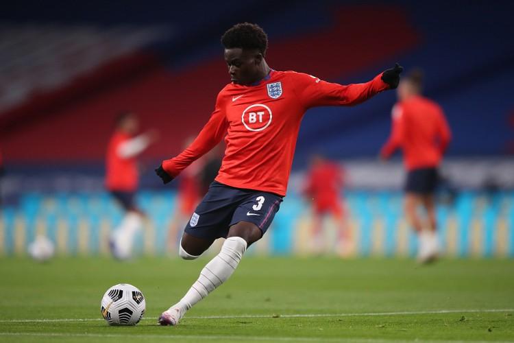 萨卡:为英格兰踢球是我的愿望,谁能想到我现已出战三场竞赛
