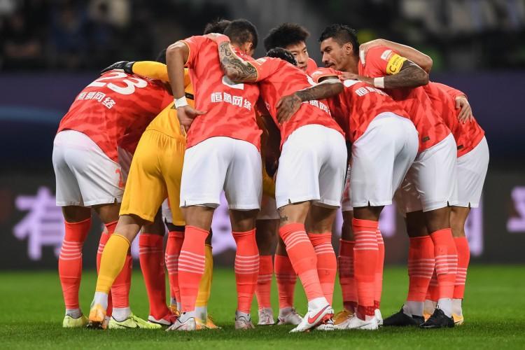 ,广州恒大地点G组只剩下三支球队,只需拼掉一个对手便可小组出线  