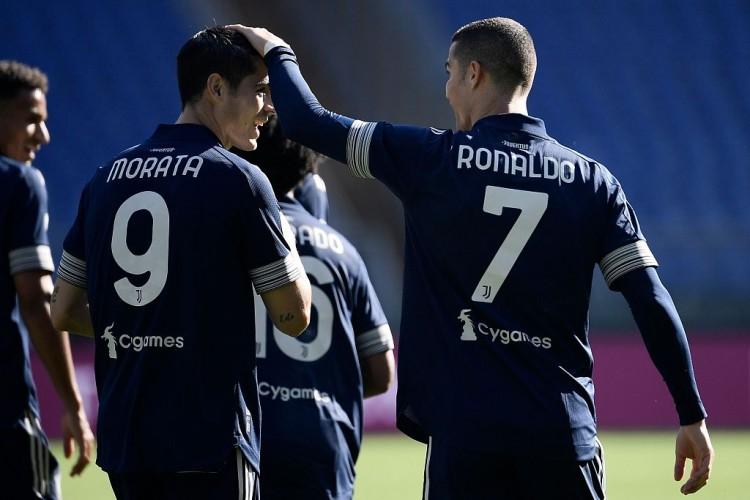 皮尔洛:C罗得到了机会展现自己有多酷爱进球 莫拉塔是理想前锋