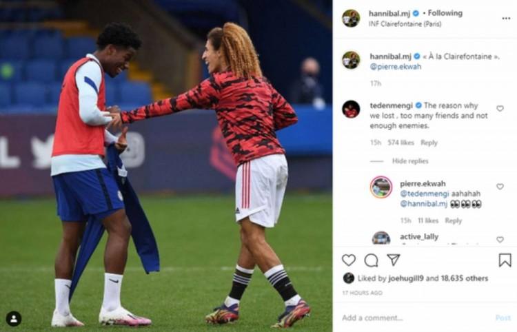 曼联U23惨败切尔西,红魔小将赛后晒与对手合照被队友公开批评