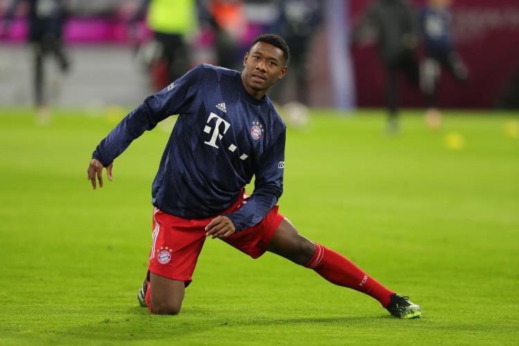 现年28岁的阿拉巴与拜仁的合同到今夏到期,他还没有和拜仁续约