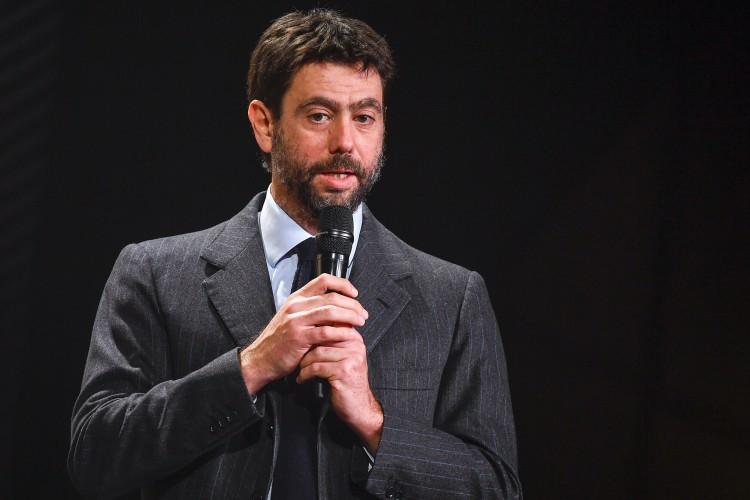阿涅利:近两个赛季,欧洲尖端足球沙龙总亏损至少为60亿欧元