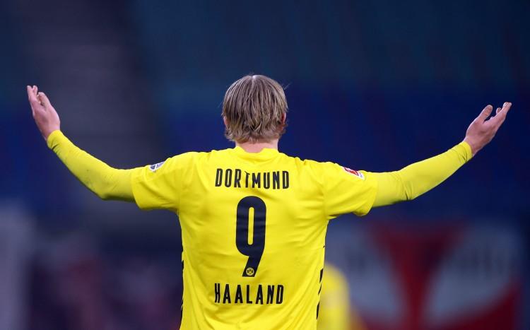 六台:多特对哈兰德的标价提升至2.5亿欧元