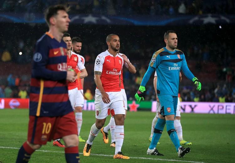 沃尔科特:梅西曾找我交流球衣 阿森纳关于拿到第四很高兴