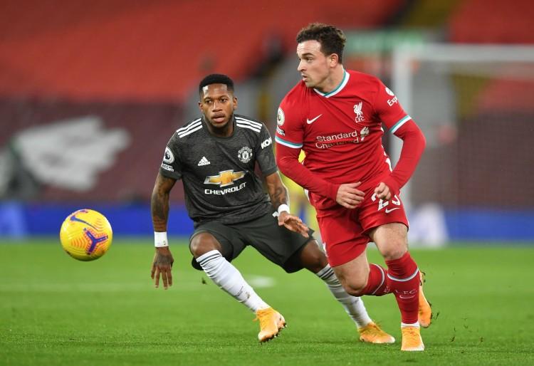 29岁的沙奇里在利物浦仍然难以竞争主力方位