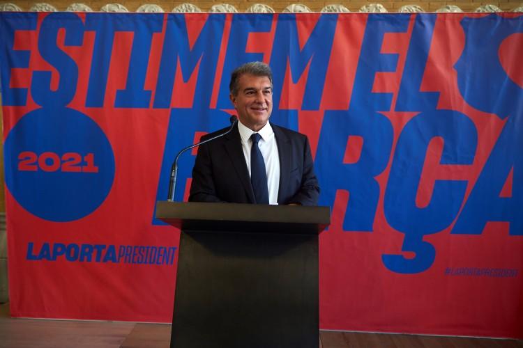 拉波尔塔:咱们能改变巴萨经济困局,22-23赛季实现财务平衡