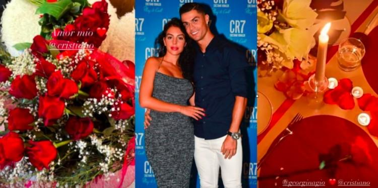 浪漫总裁,C罗预备烛光晚餐庆祝乔治娜27岁生日