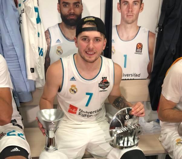 尼尔森:东契奇18年欧冠决赛拉胯后我在滑跪庆祝 他是咱们的了