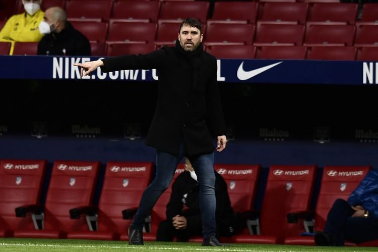   塞尔塔主帅:今天比赛很艰苦 马竞具有西甲最好的球员与教练