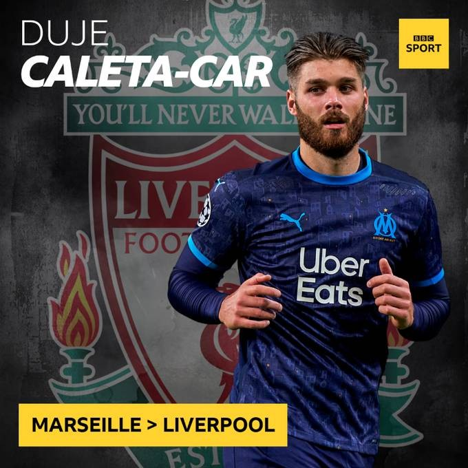 利物浦曾谈妥后卫卡尔,但马赛最终时间封闭买卖   