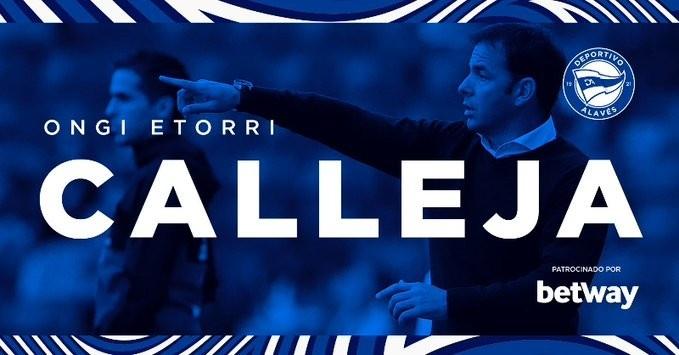 阿拉维斯宣告卡雷亚成为球队新帅 掌握球队至本赛季完毕 