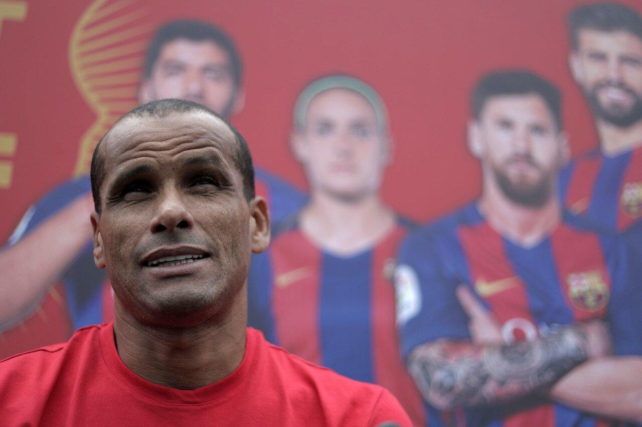 里瓦尔多:相信梅西不会脱离巴萨 希望科曼能得到时刻改进球队