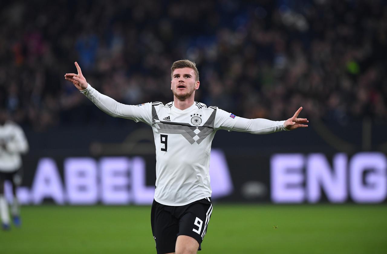官方:维尔纳因感冒缺席周一德国国家队的签到