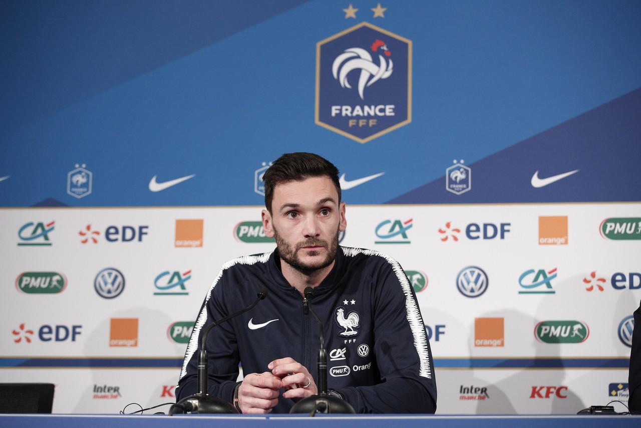 洛里:今日咱们踢得欠好,球队有必要进步体现来迎接欧洲杯