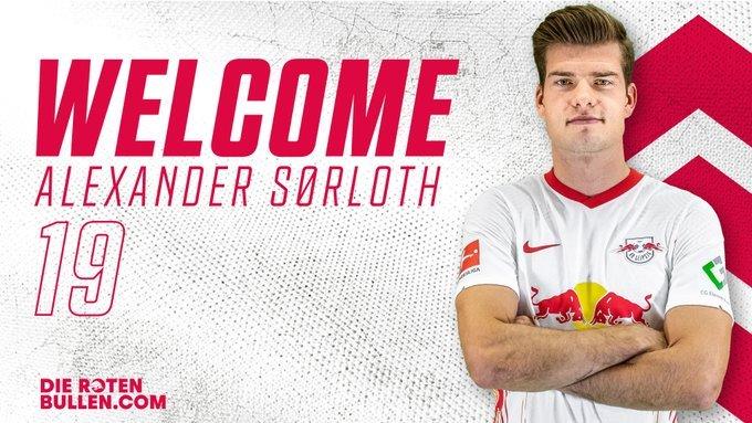 官方:莱比锡红牛签下挪威前锋索尔洛特,转会费为2200万欧+奖金