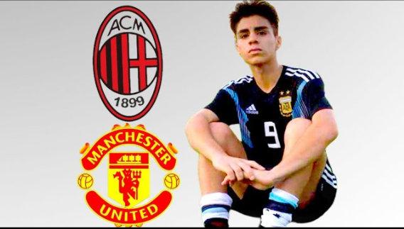 镜报:多队比赛阿根廷16岁小将卢纳,曼联和米兰领跑争夺战