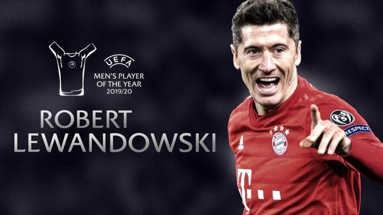莱万谈拿欧足联年度最佳球员:很自豪在梅罗时代获奖