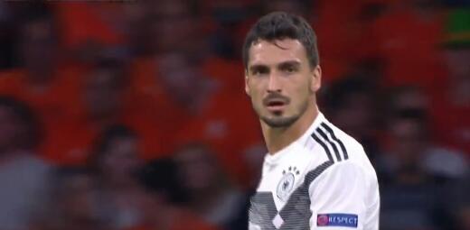 德国后卫哪家强?踢球者列德国中卫抗衡成功率:胡梅尔斯第一