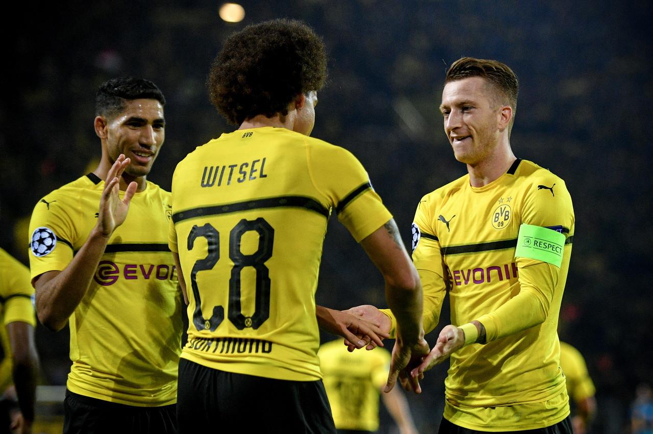 维特塞尔:罗伊斯和阿扎尔、德布劳内是同一水平的球员