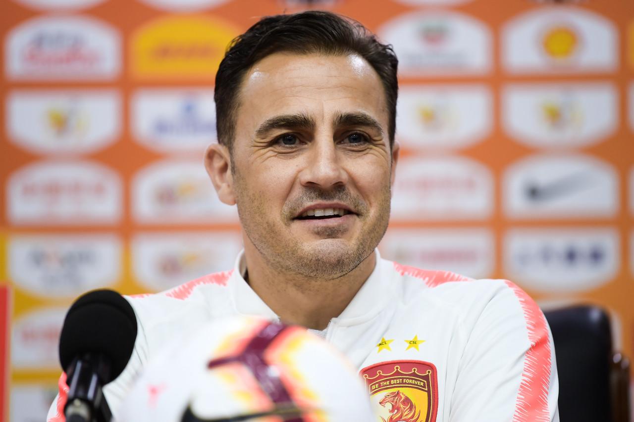 卡纳瓦罗:里皮让中国足球水平得到提升 不会拒绝签巴神