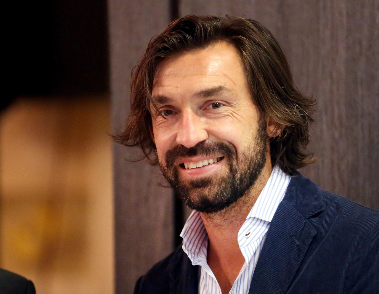 皮尔洛几个月之后将拿到欧足联的职业教练资格证